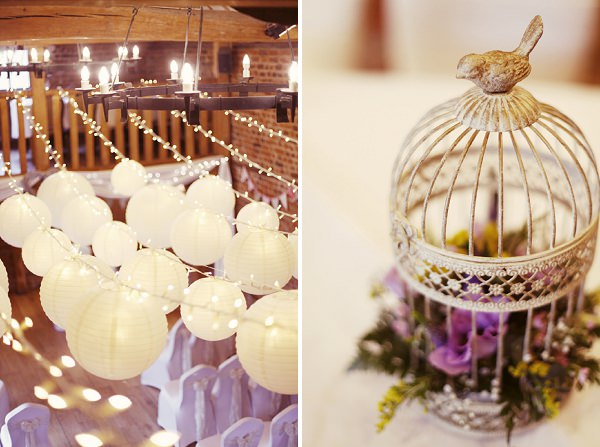 birdcage flowers wedding