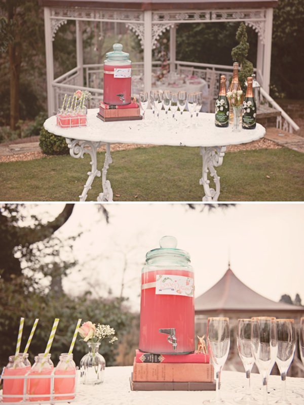 lemonade wedding drinks