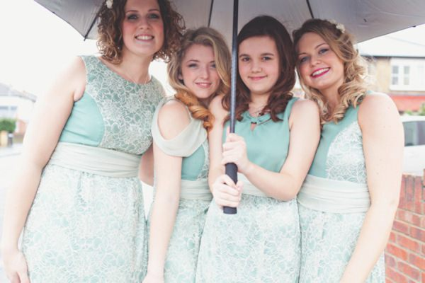 mint lace bridesmaid dresses