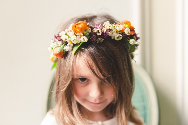 flower crown halo floral garland