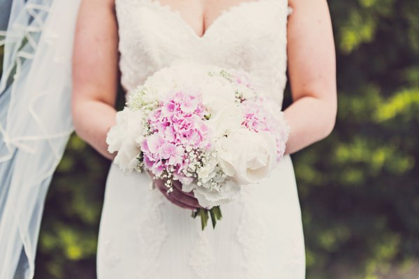 peony and hydrangea bouquet http://www.clairepennphotography.com/