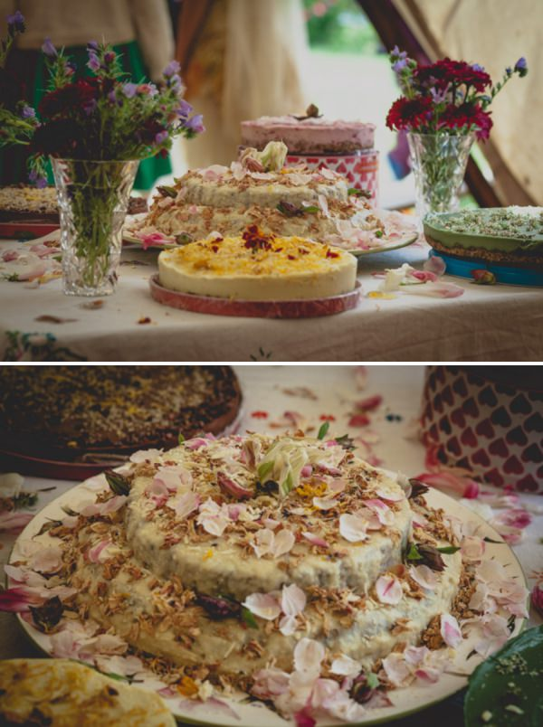 raw vegan wedding cake http://elizaboophotography.com/