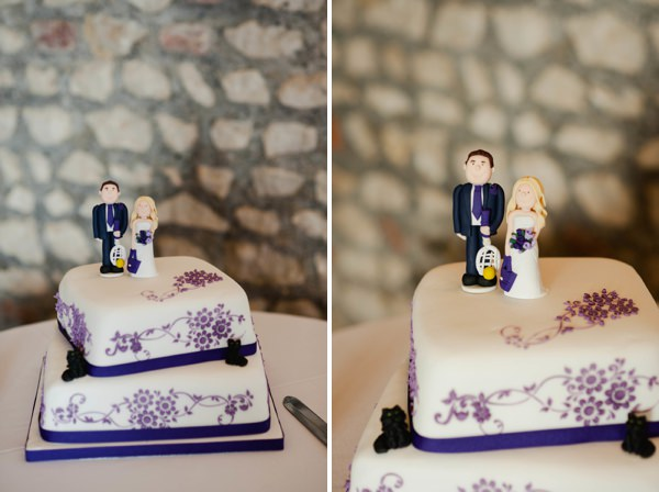 purple wedding cake http://www.alexa-loy.com/