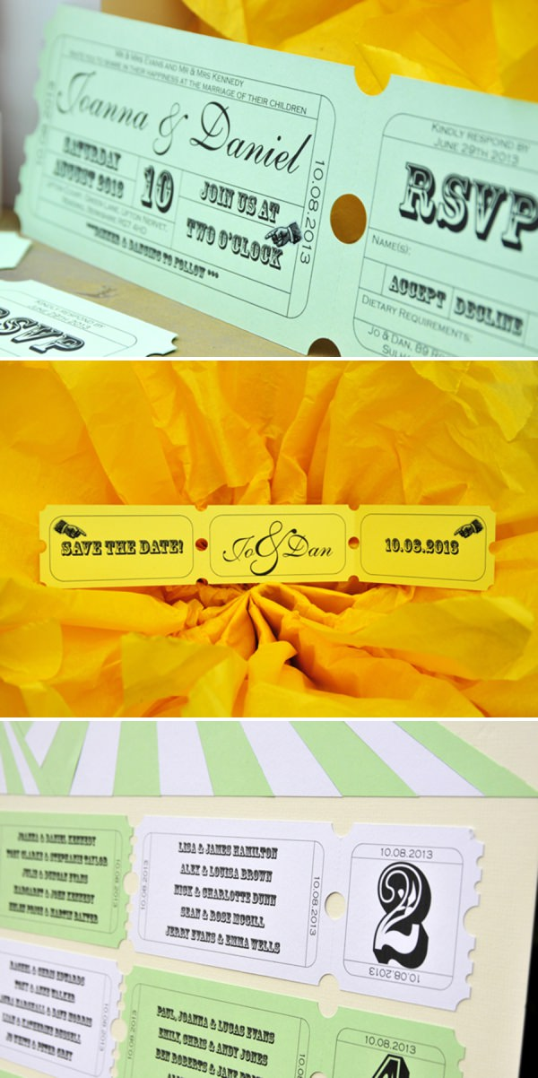 carnival wedding stationery invitation ideas http://www.jorichardsphotography.com/