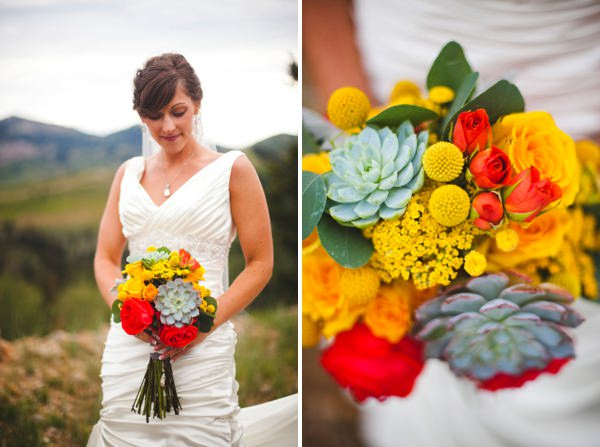 multicoloured wedding bouquet http://www.pier23photography.com/