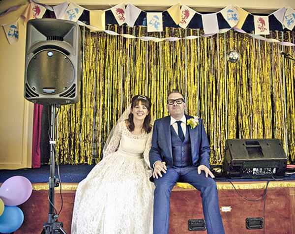 vintage village hall wedding http://www.stellafakiyesiphotography.com/