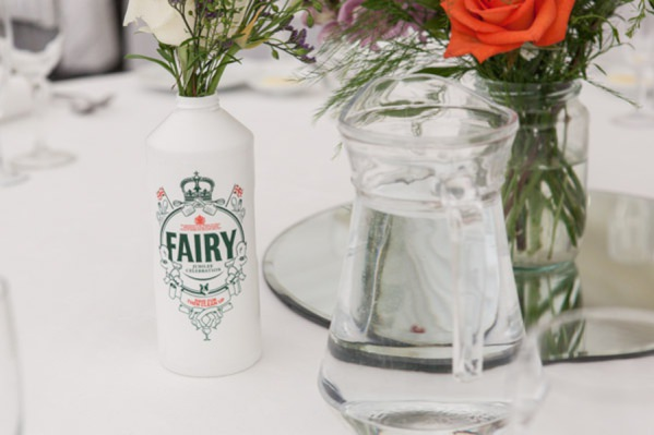 fairy liquid bottle wedding flowers http://www.vivaweddingphotography.com/