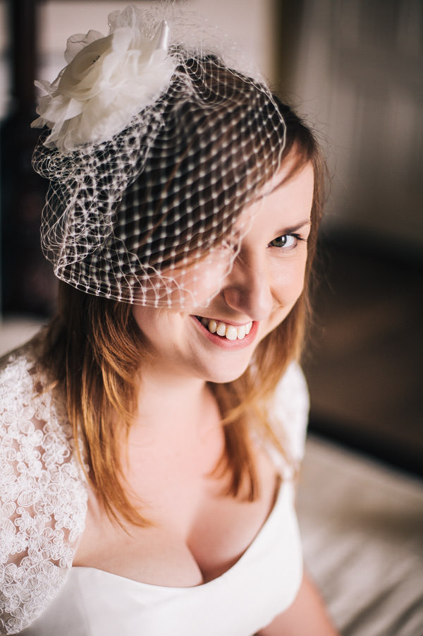 birdcage veil bride  http://www.cassandralane.co.uk/