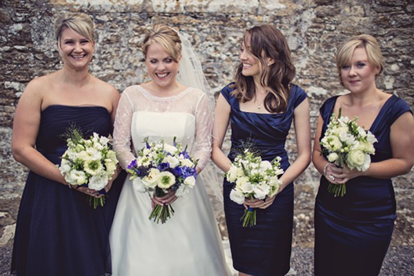 blue bridesmaid dresses http://www.annaclarkephotography.com/