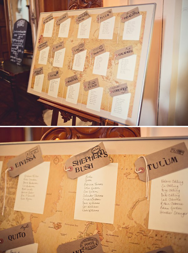 wedding table plan http://www.annaclarkephotography.com/