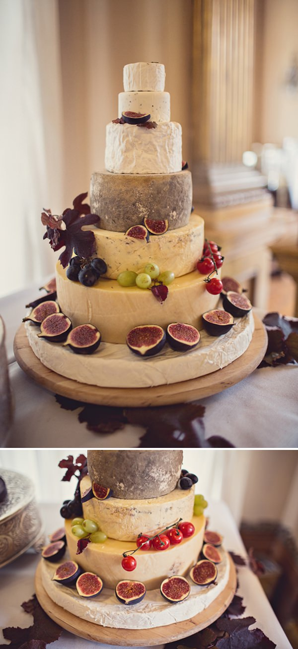 cheese wedding cake http://www.annaclarkephotography.com/