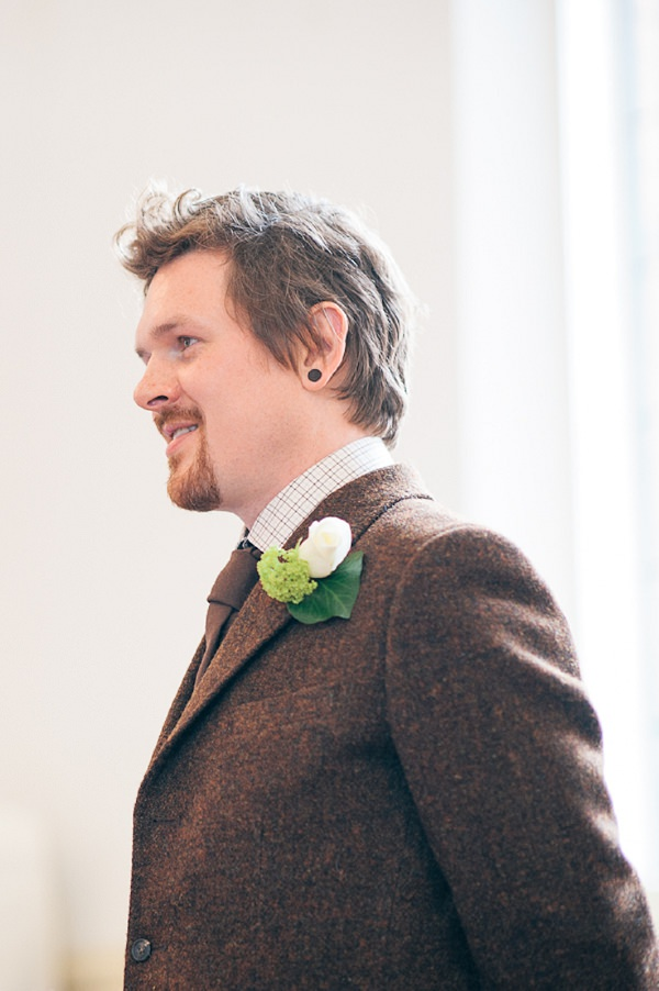 Brown Tweed Groom Outfit http://www.lisadevinephotography.co.uk/