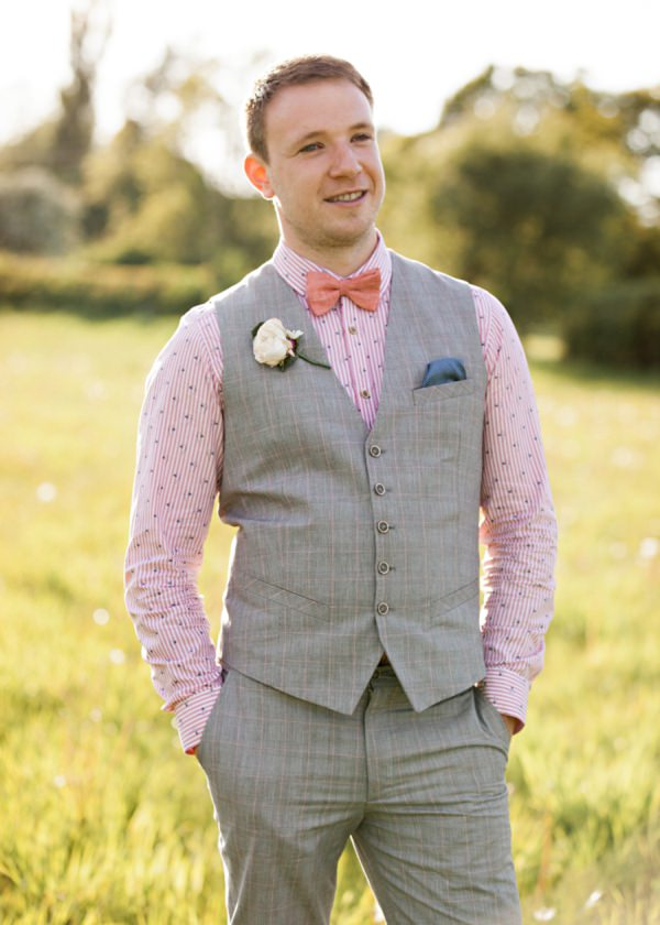 Pink Bow Tie Groom http://hbaphotography.com/
