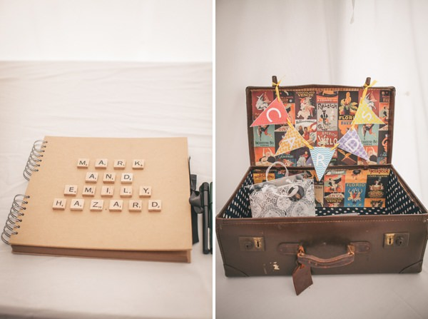 Scrabble Guest Book Pretty Party Pub Informal Wedding http://www.emmalucyphotography.com/