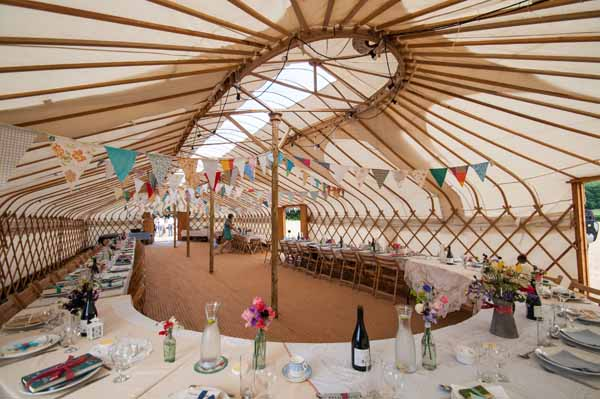 Yurt Country Fair Farm Outdoor Wedding http://martamayphotography.co.uk/