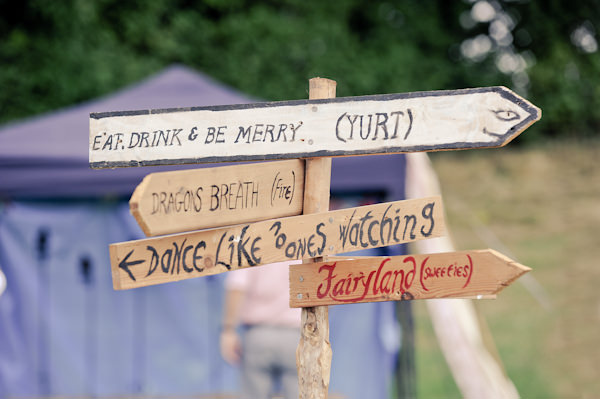 Signs Natural Bohemian Vegan Yurt Wedding http://www.ctimages.co.uk/