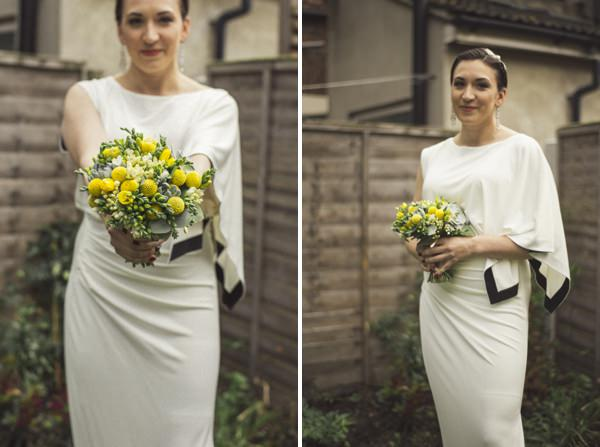 1920s inspired bride dress net-a-porter Yellow 1920s DIY London Wedding http://www.corradochiozzi.com/