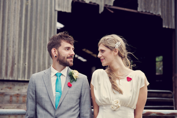 Stylish Fun Humanist Wedding http://www.ruby-roux.com/