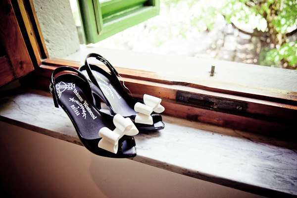 Bow Wedding Shoes Romantic Tuscany Wedding http://stealthestagephotography.blogspot.co.uk/
