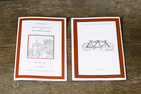 Chic Black Tie Hampton Court House Wedding Stationery http://www.clairestelle.com/