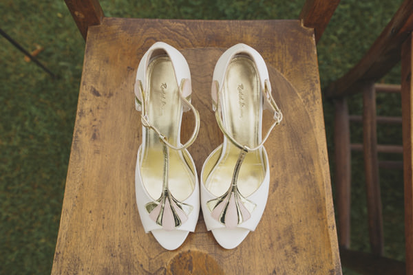 Indie Farm Wedding Rachel Simpson T Bar Shoes http://www.mirrorboxphotography.com/