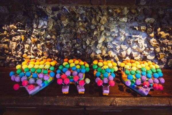 Rainbow Wedding Cake Pops http://www.babbphoto.com/
