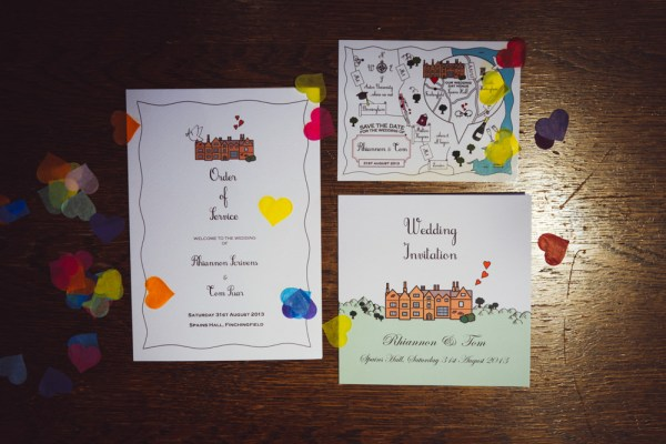 Rainbow Wedding Stationery http://www.babbphoto.com/