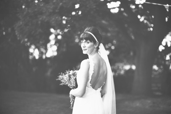 DIY Village Hall Wedding Lusan Mandongus Dress Bride http://www.onloveandphotography.com/