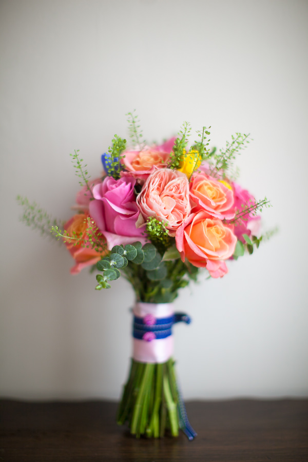 Colourful Fun Candy Wedding Bouquet http://www.julietteharrison.co.uk/