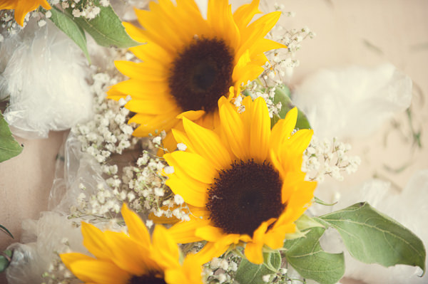 DIY Wedding Victoria Baths Manchester Sunflowers http://www.mrsleeve.co.uk/