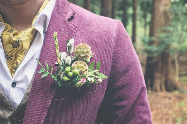 Woodland Wonderland Wedding Ideas Buttonhole http://www.jessicawitheyphotography.squarespace.com/