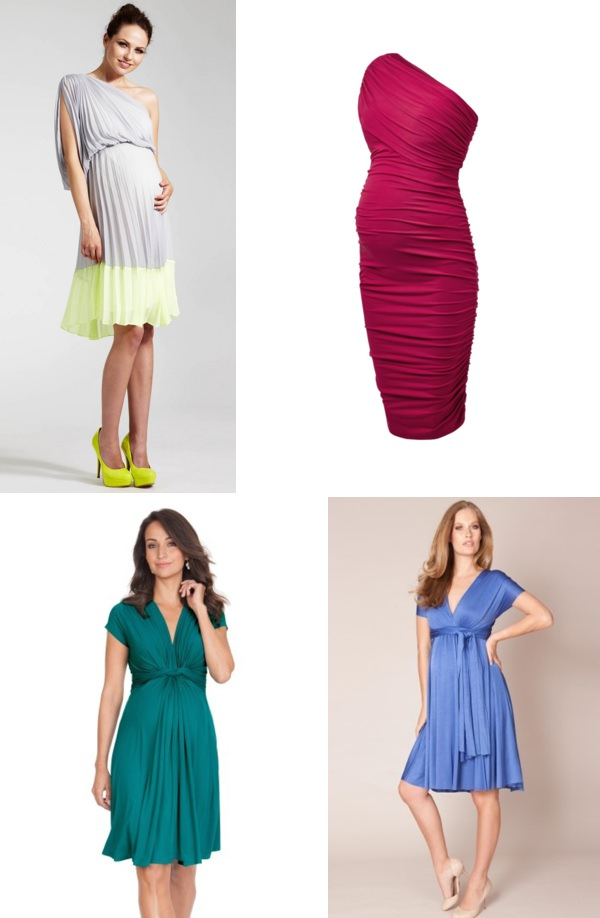 Maternity Wedding Guest Bridesmaid Fashion Style Ideas
