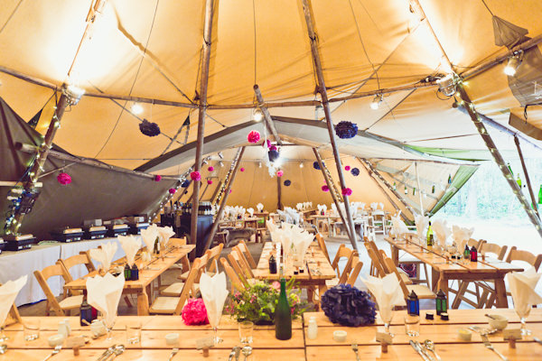 Rustic Wedding Tipi Decorations http://www.carlybevan.co.uk/