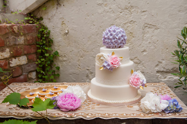 Flower Fairy Bridesmaid Ideas Wedding Cake http://katforsyth.com/
