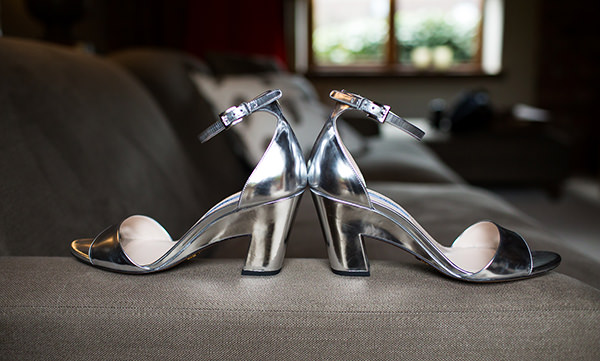 Whimsical Chic Country Wedding Prada Sandals Shoes http://www.johastingsphotography.co.uk/