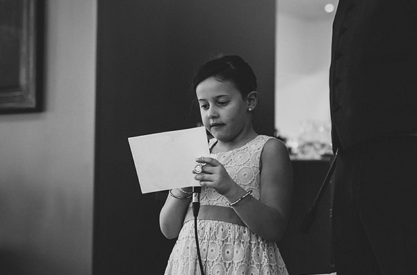 Child Kid Wedding Reading Ceremony http://thismodernlove.co.uk/