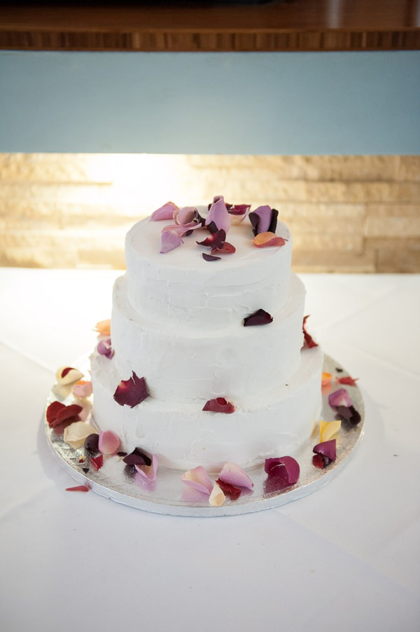 Multicoloured Pom Pom Lido Cafe Wedding Petal Cake http://fionasweddingphotography.co.uk/