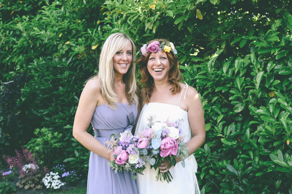 Pretty Floral Country Garden Fete Wedding Lilac Bridesmaid Dress http://www.emmaboileau.co.uk/