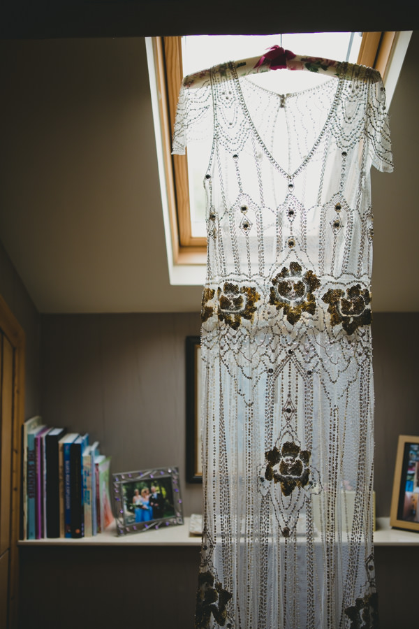 Jenny Packham Eden Dress Gold Red Glam English Indian Wedding http://amybphotography.co.uk/