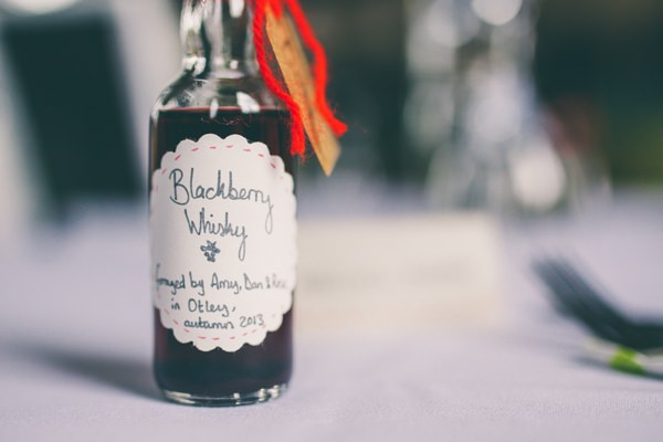 Crafty Hand Sewn Vintage Wedding DIY Blackberry Whisky Favours http://www.njphotographic.co.uk/