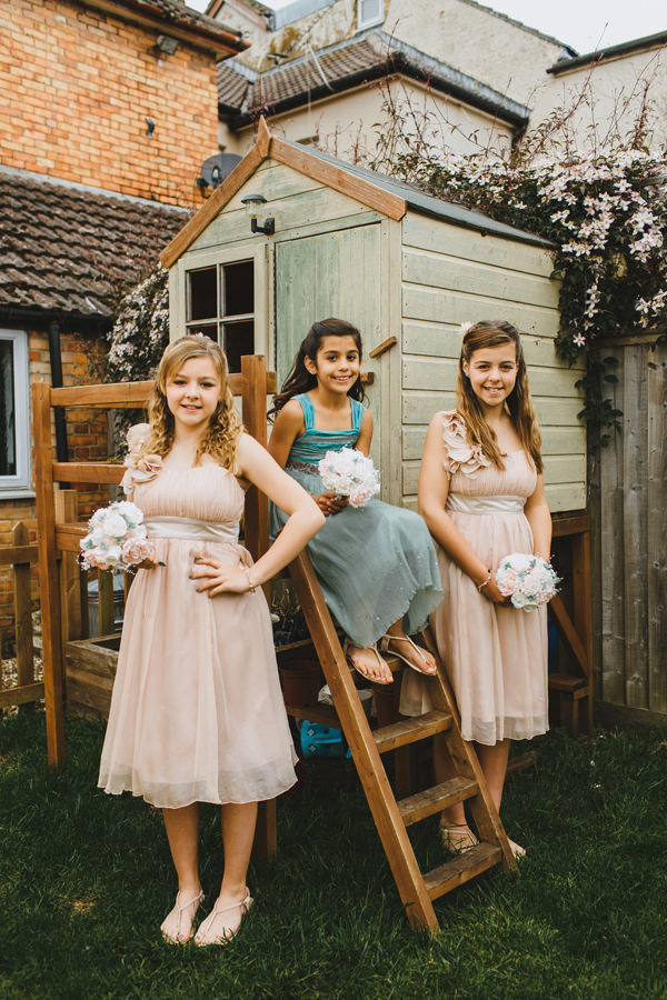 Informal Intimate Seaside Wedding Flowergirls http://francescasecolonovophotography.com/