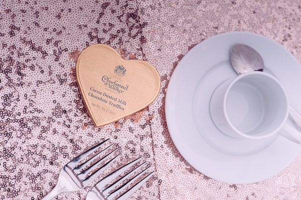 Marie Antoinette Pink Wedding Sequin Table Cloths http://www.annapumerphotography.com/