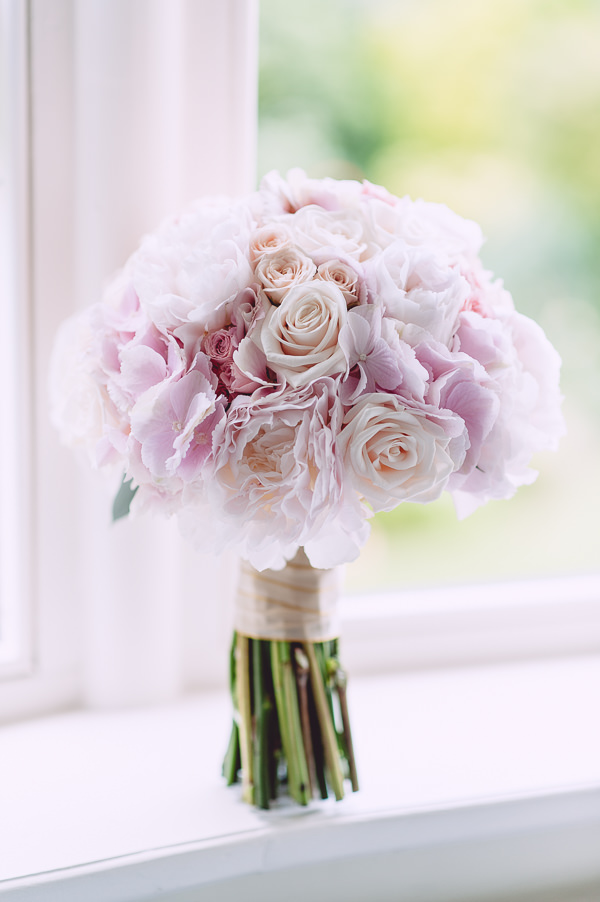 Marie Antoinette Pink Wedding Rose Bridal Bouquet http://www.annapumerphotography.com/