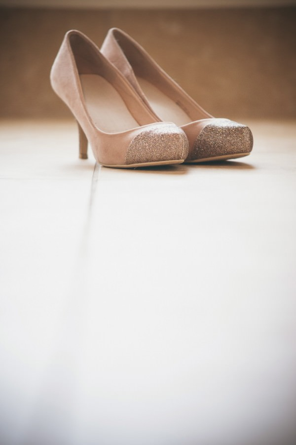 Glitter Toe Wedding Shoes Bride http://www.shearsmockford.com/