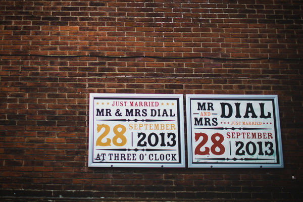 Eclectic Quirky Wedding Custom Signs http://www.claudiarosecarter.co.uk/