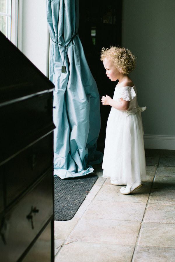 Country Garden Camping Marquee Wedding Flowergirl http://www.chebirchhayesphotography.com/
