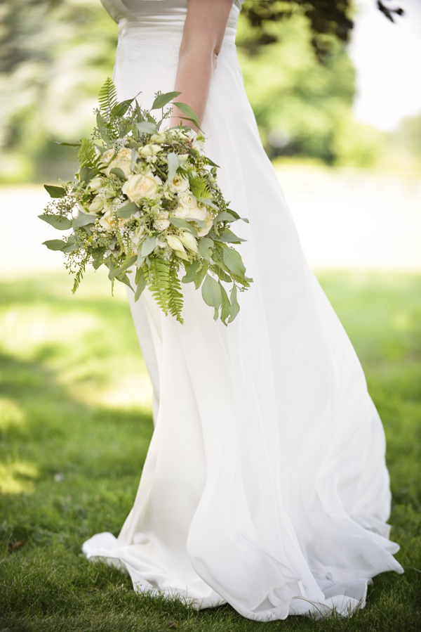 Green Leaf Foliage Fern Bouquet Pretty Natural Bohemian Bridal Bride http://www.careysheffield.com/