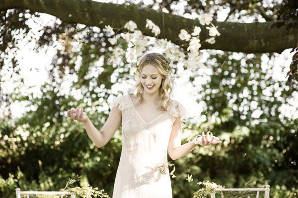 Beautiful Rustic Woodland Bridal Bride http://www.careysheffield.com/