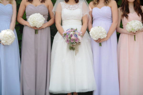 Pastel Homemade Walled Garden Wedding http://www.suekwiatkowska.com/