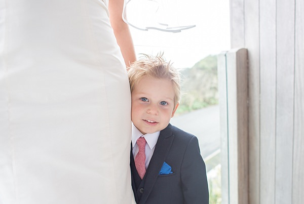 Informal Beach Wedding Pageboy http://www.juliaandyou.com/